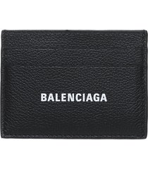 balenciaga balenciaga card holder in leather