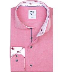 r2 overhemd heren fuchsia