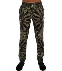 carretto print jurk broek