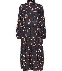 dress-light woven jurk knielengte zwart brandtex