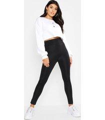 waist shaping leggings, black