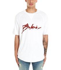balmain balmain signature t-shirt