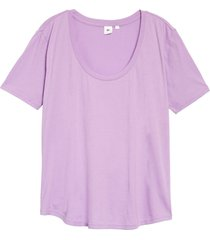 women's bp. all day tee, size x-large - purple