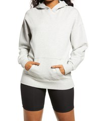 women's bp. hooded pullover, size x-large - grey