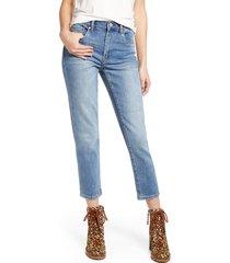 women's blanknyc the madison high waist crop jeans