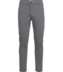 chino pants with elastic waist kostymbyxor formella byxor grå lindbergh