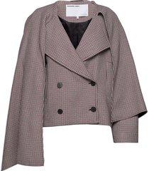 debra short coat ulljacka jacka multi/mönstrad designers, remix