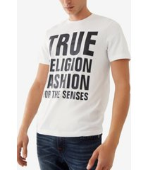 men's fashion for senses short sleeve crewneck tee