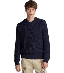 polo ralph lauren men's cotton long sleeve sweater