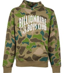 billionaire boys club camo a/o print arch logo hoodie #cv#