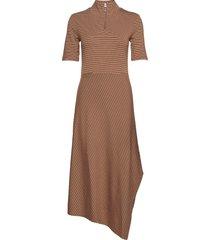 annabeliw dress knälång klänning brun inwear