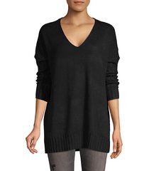 vhari ribbed-sleeve sweater