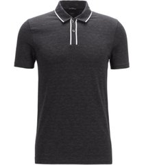 boss men's pryde slim-fit cotton polo shirt