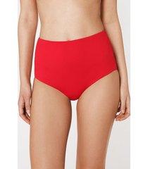 calzedonia indonesia high waist shaping bikini bottoms woman black size 3