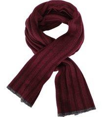 brunello cucinelli bordeaux cashmere scarf