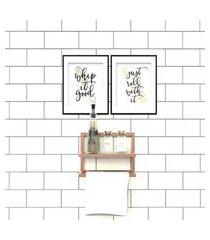 porta condimentos suporte toalha bronze lilies móveis