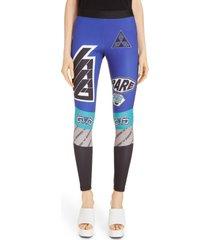 women's givenchy logo leggings, size 10 us / 42 fr - black