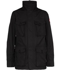 canada goose stanhope multi-pocket jacket - black