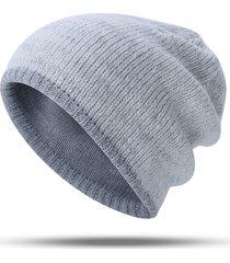 cappello da donna caldo da uomo in maglia a maniche lunghe da donna con berretto caldo all'aria aperta orecchio cappello caldo