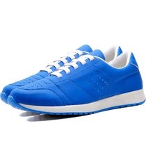 tênis sapatênis casual elegant feminino dubuy 1102-1103la azul