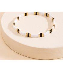 women's alyssa flat chip bracelet in multi by francesca's - size: one size