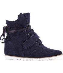 sneakersy dark blue