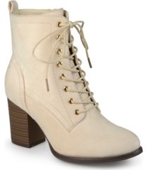 journee collection women's baylor bootie women's shoes