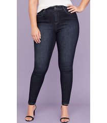 lane bryant women's ultimate stretch skinny jean - dark wash 14l dark denim