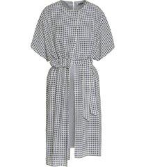 kiton dress silk