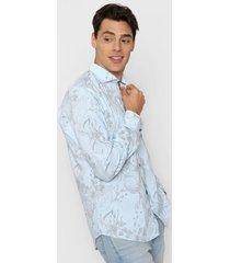 camisa celeste new astor florida