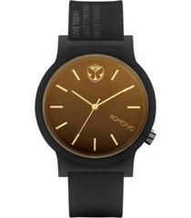 reloj analogo mono x tml black komono