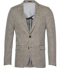 special weave blazer blazer colbert grijs lindbergh