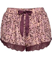 short jersey camouflage shorts rosa hunkemöller
