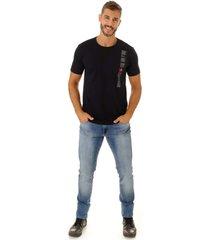 camiseta opera rock t-shirt azul marinho - azul marinho - masculino - algodã£o - dafiti