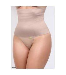 cinta calcinha seca barriga ponto certo lingerie modeladora alta chocolate
