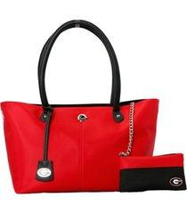 georgia bulldogs licensed ncaa pamela handbag