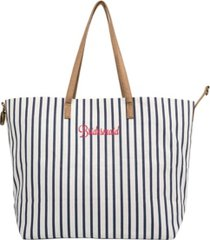 cathy's concepts bridesmaid overnight tote