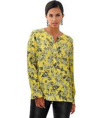 blouse amy vermont geel::zwart
