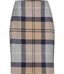 nebit pencil skirt knälång kjol multi/mönstrad barbour