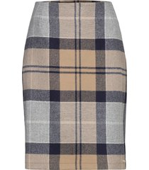 nebit pencil skirt knälång kjol multi/mönstrad barbour