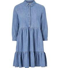 klänning onlenya life 3/4 sleeve medi dnm dress