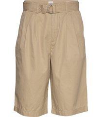 high rise belted bermuda shorts bermudashorts shorts beige gap