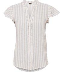 camicetta in lino (bianco) - bodyflirt