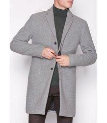 selected homme slhbrove wool coat b jackor grå