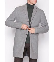 selected homme slhbrove wool coat b jackor grå