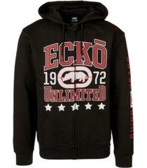 ecko unltd men's sure bet full zip hoodie