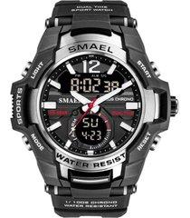 reloj deportivo hombre smael 1805 tipo militar digital
