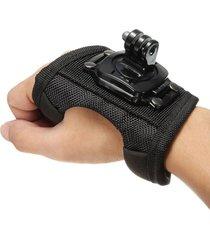 360 rotación muñequera correa de mano soporte de banda