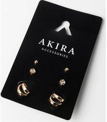 akira im so fancy earring stud set