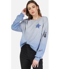 sierra bandana star - xs blue ombre